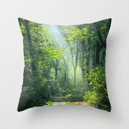 Woodland Glory Throw Pillow