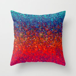 Glitter Dust Background G172 Throw Pillow