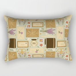 Snail Mail Rectangular Pillow