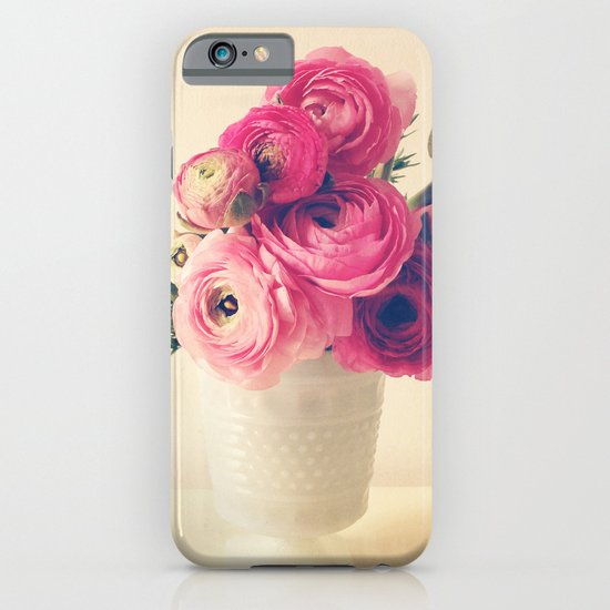 Cottage Flowers iPhone & iPod Case