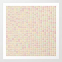 Minimalist Pattern Art Print