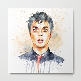 Billie the Punk Rocker Metal Print