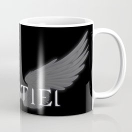Castiel with Wings White Coffee Mug