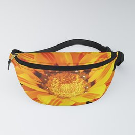Floral Beauty in Close Up Fanny Pack