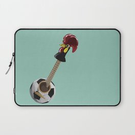 fado, soccer,and a cock from barcelos Laptop Sleeve