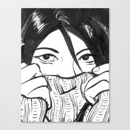 Shygirl Canvas Print