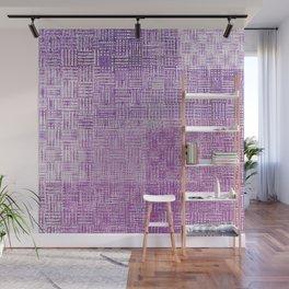 Purple City Wall Mural