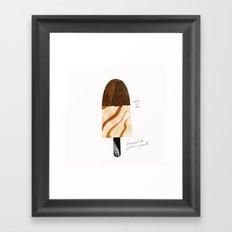 Popsicle 4 | 100 Days of Cookbook Spots Framed Art Print