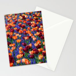 Flowerbed Medley Stationery Cards