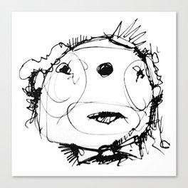 Clowns in Crowns #3 Canvas Print