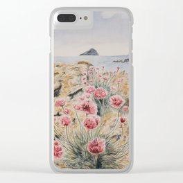 Washed Out Clear iPhone Case