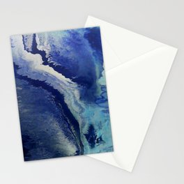 Wake - Abstract Painting by David Munroe Stationery Cards