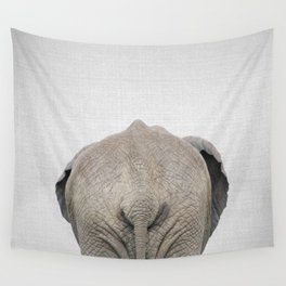 Elephant Tail - Colorful Wall Tapestry
