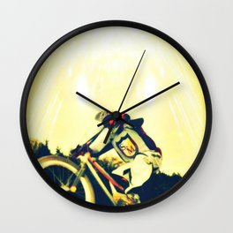 jdm bmx Wall Clock