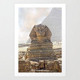 Sphinx  Egypt Art Print