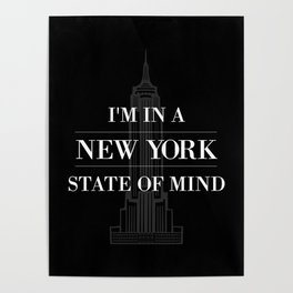 New York State of Mind #2 Poster