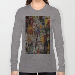 Beer Me Collage Long Sleeve T-shirt