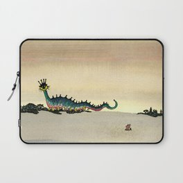 """The Sea Creature who says """"Ick!"""" Laptop Sleeve"""
