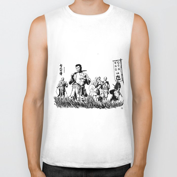 Seven Samurai Biker Tank
