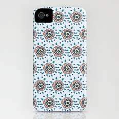 Minta's Floral iPhone (4, 4s) Slim Case