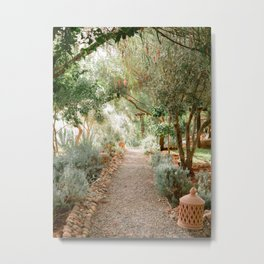 Botanical paradise | Morocco travel photography Metal Print