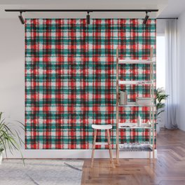 Take it Easy Sk8Ter! - Red - Abstract Chess Visual Graphic Design Wall Mural