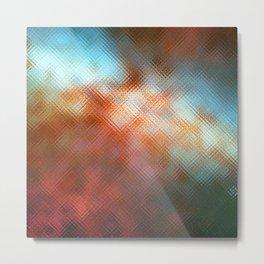 Glass Texture no1 Metal Print