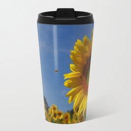 Sunny Summer Sunflower Travel Mug