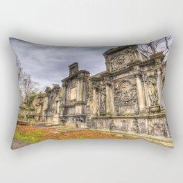 Greyfriars Kirk Cemetery Edinburgh Rectangular Pillow
