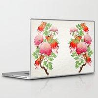 goldfish Laptop & iPad Skins featuring goldfish by Manoou