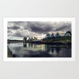 The Tyne Art Print