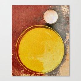 Kuaray and Jacy (Sun and Moon) Canvas Print