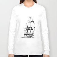 sail Long Sleeve T-shirts featuring Sail by Roberto J. Viacava
