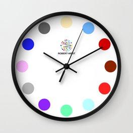 Robert Hirst Spot Clock 20 Wall Clock