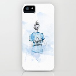 Adidas Girl iPhone Case