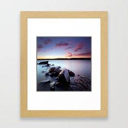 Looking East Framed Art Print
