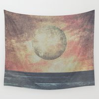 valentina Wall Tapestries featuring Restless moonchild by HappyMelvin