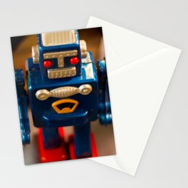 1950s Toy Robot 01 Stationery Cards