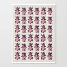 scarab army Canvas Print