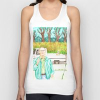 clint eastwood Tank Tops featuring Clint Eastwood by cristina zavala