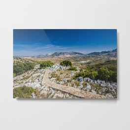 Empty path - Spain Metal Print
