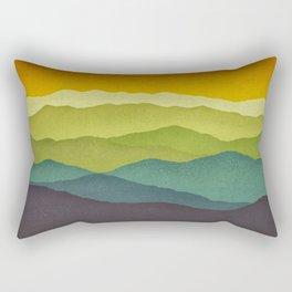 Mountain Colors Rectangular Pillow