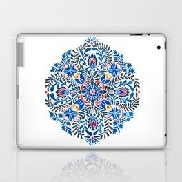Blue-red mandala Laptop & iPad Skin