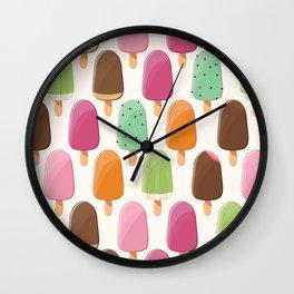 Ice cream 012 Wall Clock