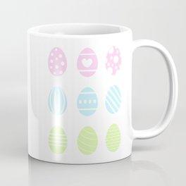 COLORFUL EASTER EGGS Coffee Mug