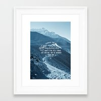 pocketfuel Framed Art Prints featuring NOT SHAKEN by Pocket Fuel