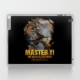 League of Legends MASTER YI - The Wuju Bladesman - video games champion Laptop & iPad Skin