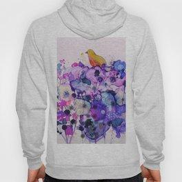 purple peace Hoody