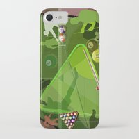 pool iPhone & iPod Cases featuring Pool by Robin Curtiss