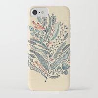leaf iPhone & iPod Cases featuring Turning Over A New Leaf by Monica Gifford